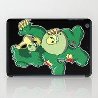 Zombie care bear iPad Case