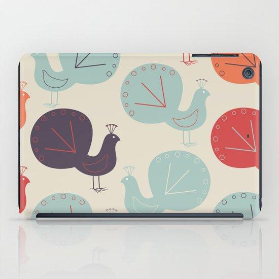 Peacock Pattern iPad Case