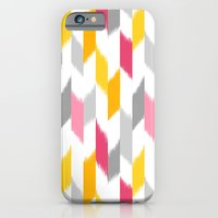 iPhone & iPod Case featuring Ikat Stripes by Patty Sloniger