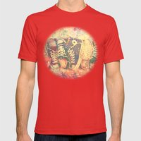 Converse2 Mens Fitted Tee Red SMALL