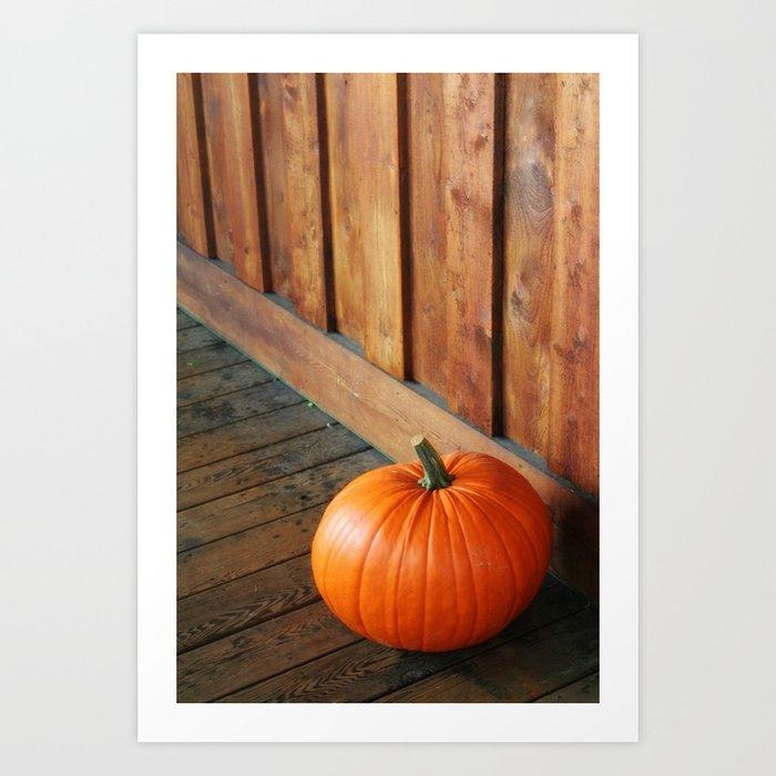 Sunday's Society6 | Pumpkin photography art print