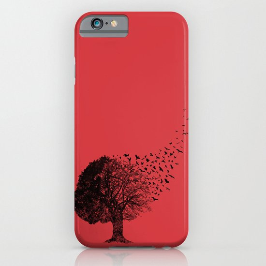 Autumn Birds iPhone & iPod Case