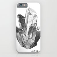 iPhone & iPod Case featuring Crystal Cluster by Akzidents