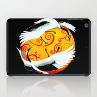 Japanese (Red-Crowned) Cranes iPad Case