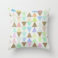 Girly Things Throw Pillow