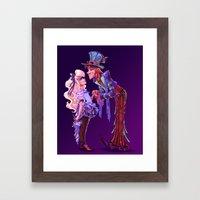 Mad For You Framed Art Print