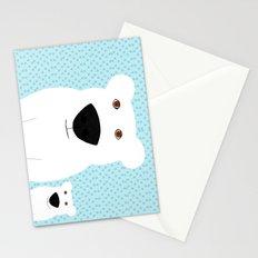 Winter - Polar Bear 2 Stationery Cards