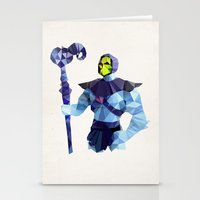 Polygon Heroes - Skeleto… Stationery Cards