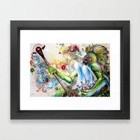 Architect Of Prehysteric… Framed Art Print