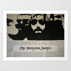 Boondock Saints Art Print