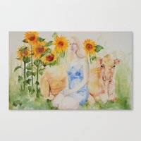 Fatted Calf Canvas Print