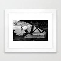 Burnside Skate Park Framed Art Print