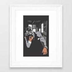 The Gangster Framed Art Print