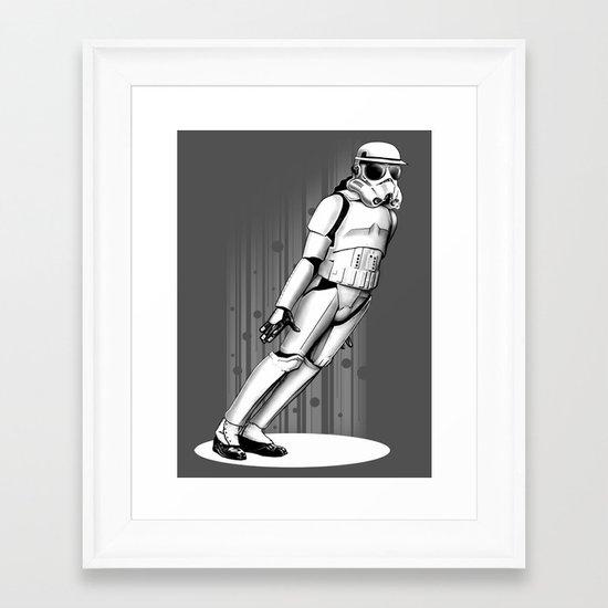 45 DEGREES Framed Art Print