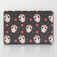 The Sugar Skull Pattern iPad Case