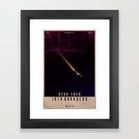Star Trek - Into Darkness Framed Art Print