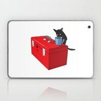 Chat Noir Beverage Tipper Laptop & iPad Skin