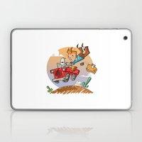 Tintin and Snowy! Laptop & iPad Skin
