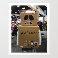 Awesom-O!!!!!!!! Art Print