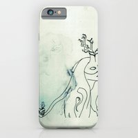 iPhone & iPod Case featuring The Husband Eater (sketch) by Cat Rocketship