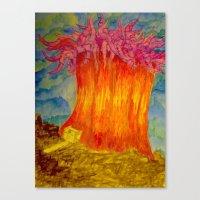 Rene Works Canvas Print