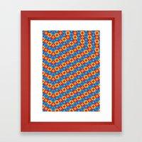 Pattern 0007 Framed Art Print