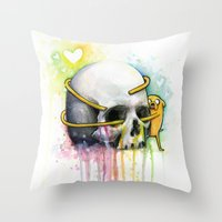 Jake the Dog  Throw Pillow