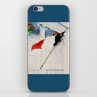 Fierté Acadienne iPhone & iPod Skin