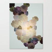 Florals // Pattern I Canvas Print