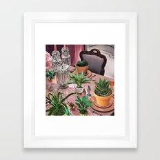 HERBIVORE Framed Art Print