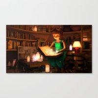 Lily's Magic Room Canvas Print