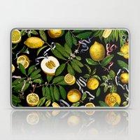 LEMON TREE Black Laptop & iPad Skin