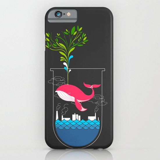 Nature Whale iPhone & iPod Case