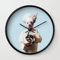 Chef Petit Pâté Wall Clock