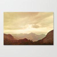 mountains (01) Canvas Print
