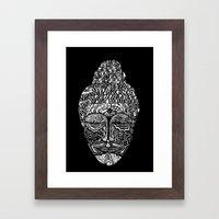 Detailed Buddha Framed Art Print