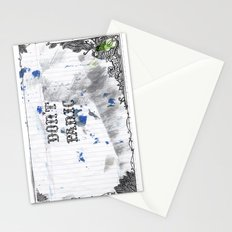 don't panic Stationery Cards