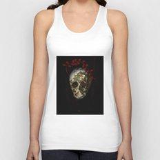 skull#01 Unisex Tank Top