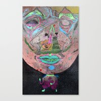 the wink Canvas Print
