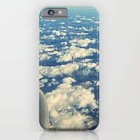 flying over mountain tops iPhone 6 Slim Case