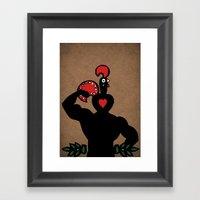Nando Muscle!  Framed Art Print