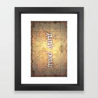 Travel Spirit #3 Framed Art Print
