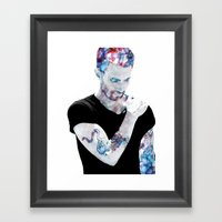 Adam Levine Framed Art Print