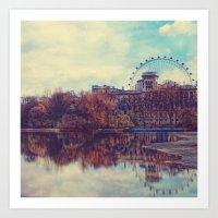 Across The Pond Art Print