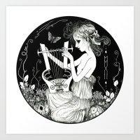 Torva Sonus - Grim Sound Art Print