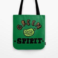 green spirit Tote Bag