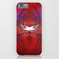 iPhone Cases featuring Twirl 5 by Don Davies