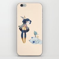 fiora iPhone & iPod Skin