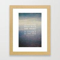 III. Anything Essential … Framed Art Print