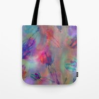 Electro Jellyfish Ball Tote Bag